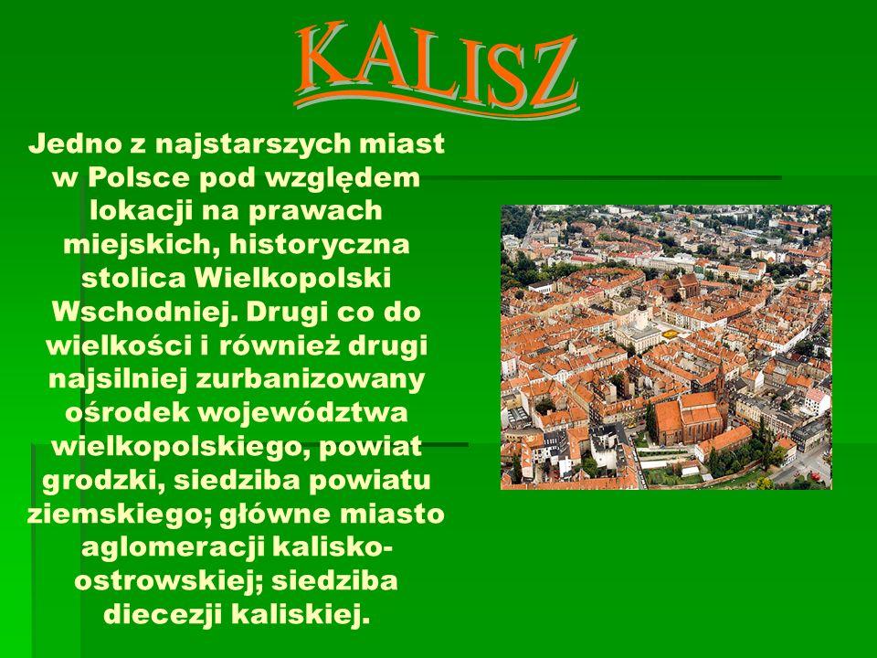 Jedno z najstarszych miast w Polsce pod względem lokacji na prawach miejskich, historyczna stolica Wielkopolski Wschodniej. Drugi co do wielkości i ró