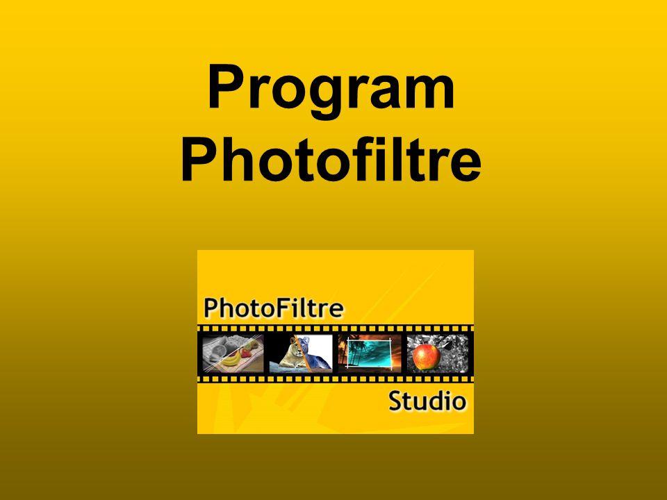 Program Photofiltre