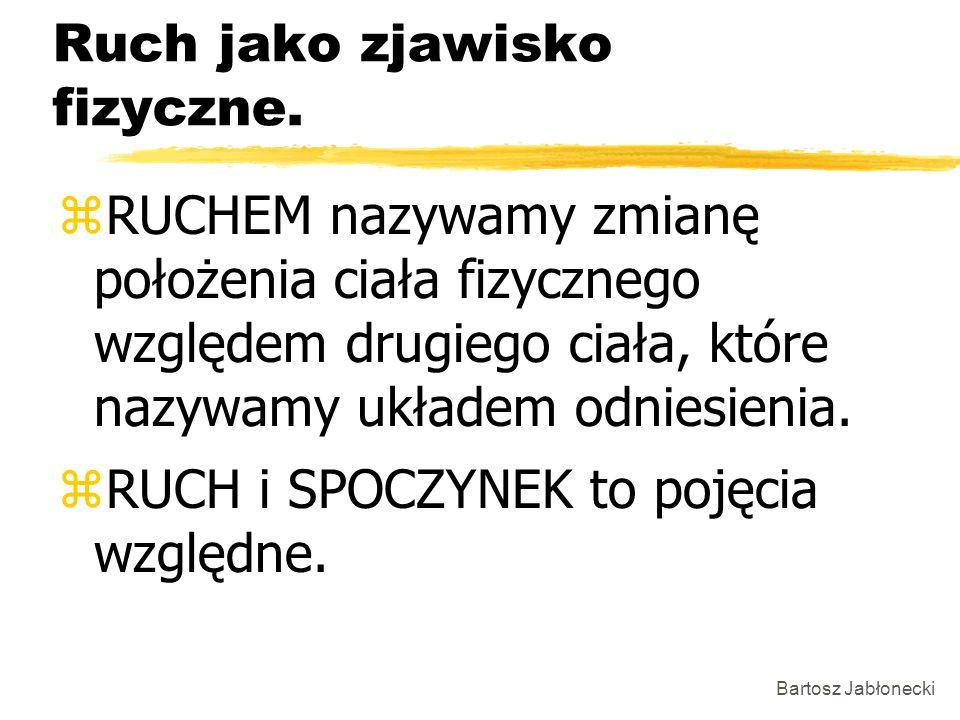 Bartosz Jabłonecki Ruch jednostajnie opóźniony.