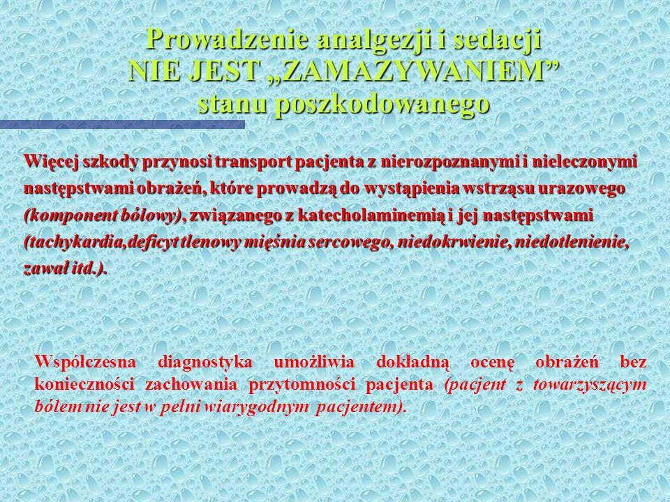 Metody diagnostyczne wykorzystywane u pacjenta - ofiary wypadku: 4 4 Dokładne badanie kliniczne i neurologiczne (powiązanie z mechanizmem wypadku; uży