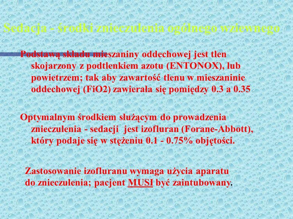 TRANQUANALGESIA (TA) TYP TA I-DIAZEPAM 50mg500 ml KETAMINA 250 mg0,9% NaCl TYP TA II-MIDAZOLAM 30 mg500 ml KETAMINA 250 mg0.9% NaCl można zredukować d