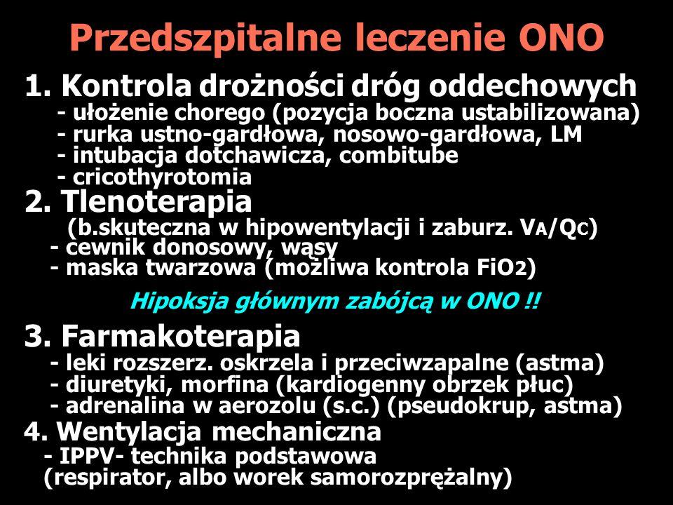 Przedszpitalne leczenie ONO 1.