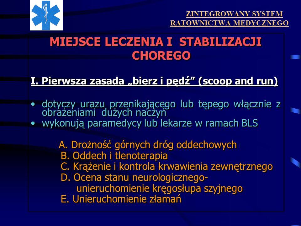 ZINTEGROWANY SYSTEM RATOWNICTWA MEDYCZNEGO II.