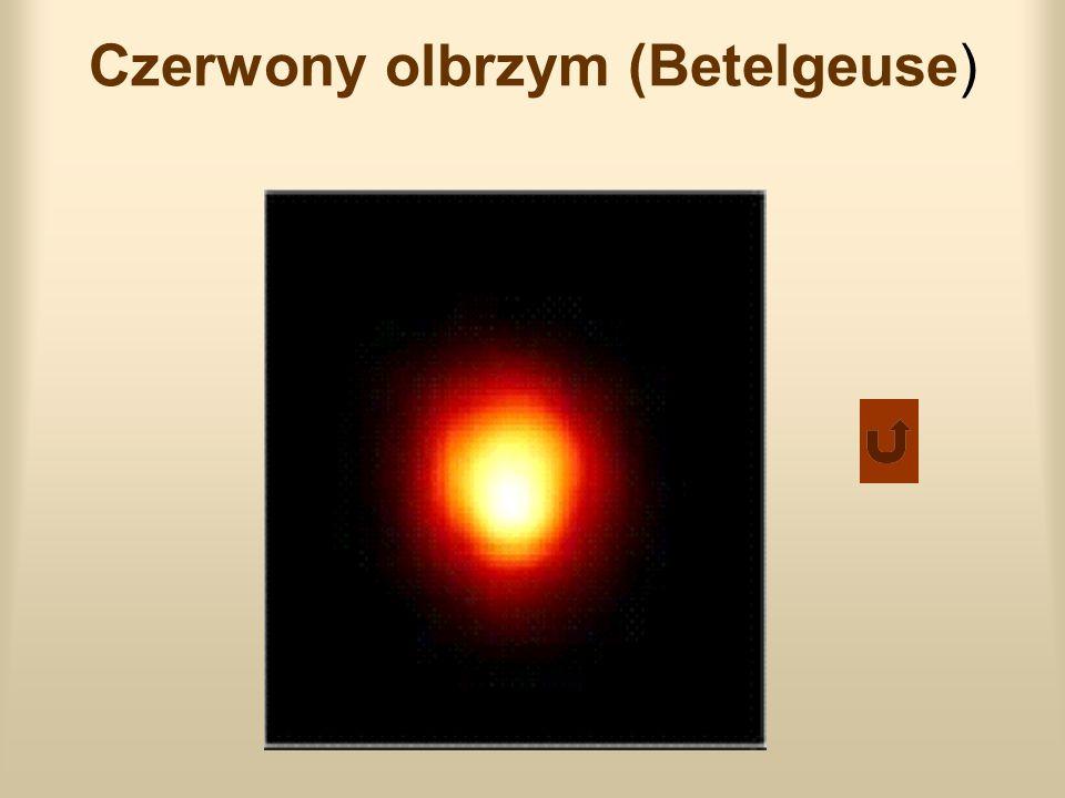 Czerwony olbrzym (Betelgeuse)