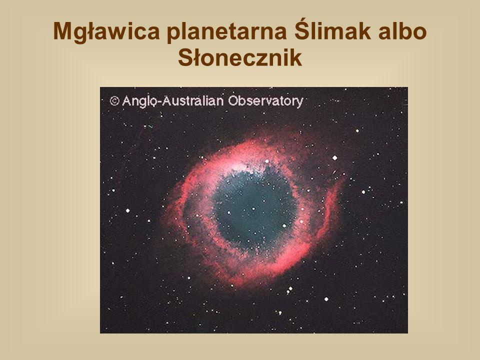 Mgławica planetarna Ślimak albo Słonecznik