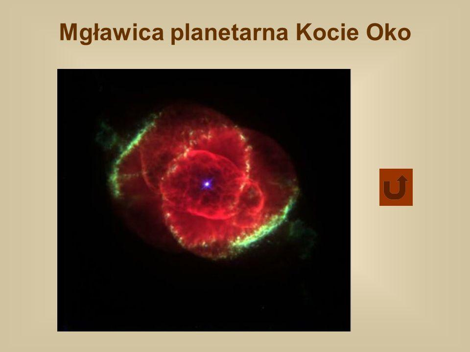 Mgławica planetarna Kocie Oko