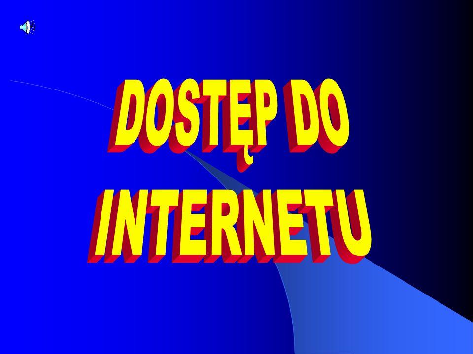 Internet- jest zbiorem sieci używających tego samego języka, protokołu.
