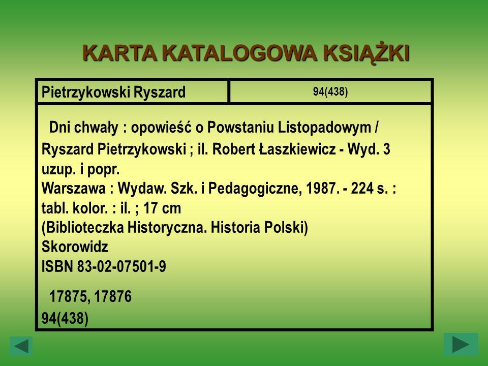 Pietrzykowski Ryszard 94(438) Dni chwały : opowieść o Powstaniu Listopadowym / Ryszard Pietrzykowski ; il. Robert Łaszkiewicz - Wyd. 3 uzup. i popr. W