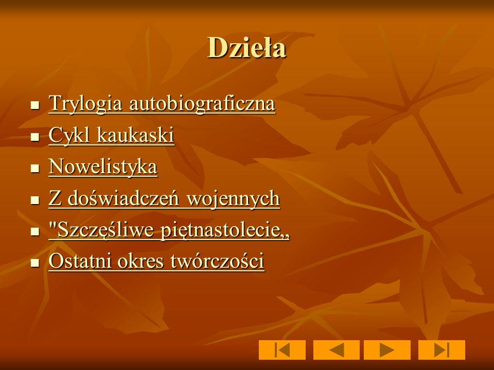 Lew Tołstoj Lew Tołstoj urodził się 9 września 1828 w Jasnej Polanie (majątku rodowym Tołstojów) urodził się 9 września 1828 w Jasnej Polanie (majątku