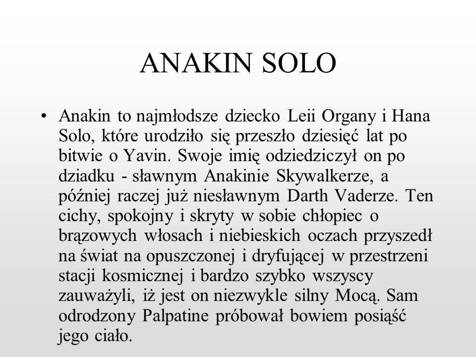 QUI-GONN JINN Urodził się 92 lata przed słynną bitwą o Yavin przypuszczalnie na Malastare lub Coruscant. Jako, że wykryto w nim duże zdolności Jedi ju