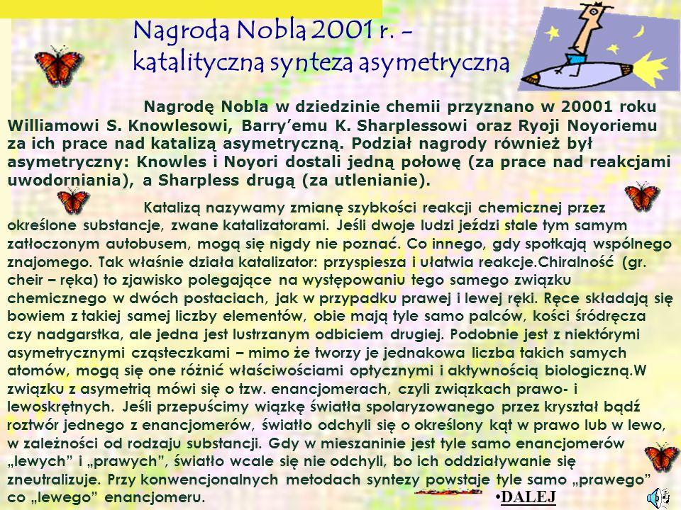 Nagroda Nobla 2001 r.