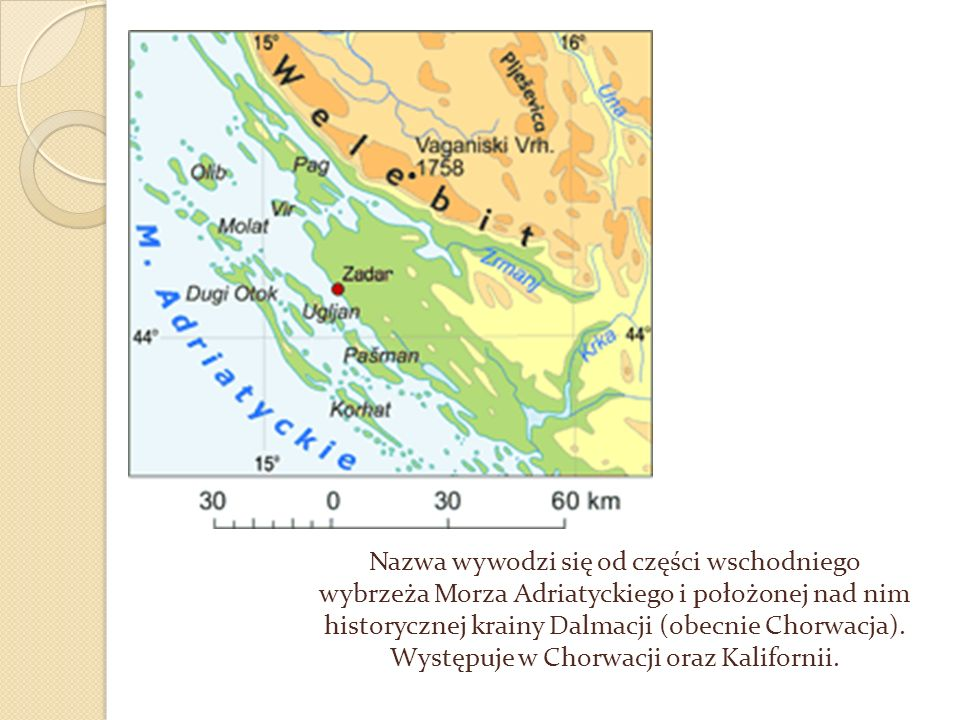 Wybrzeże dalmatyńskie w okolicach Splitu (Chorwacja)