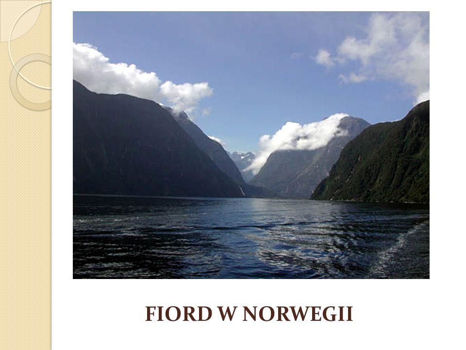 FIORD W NORWEGII