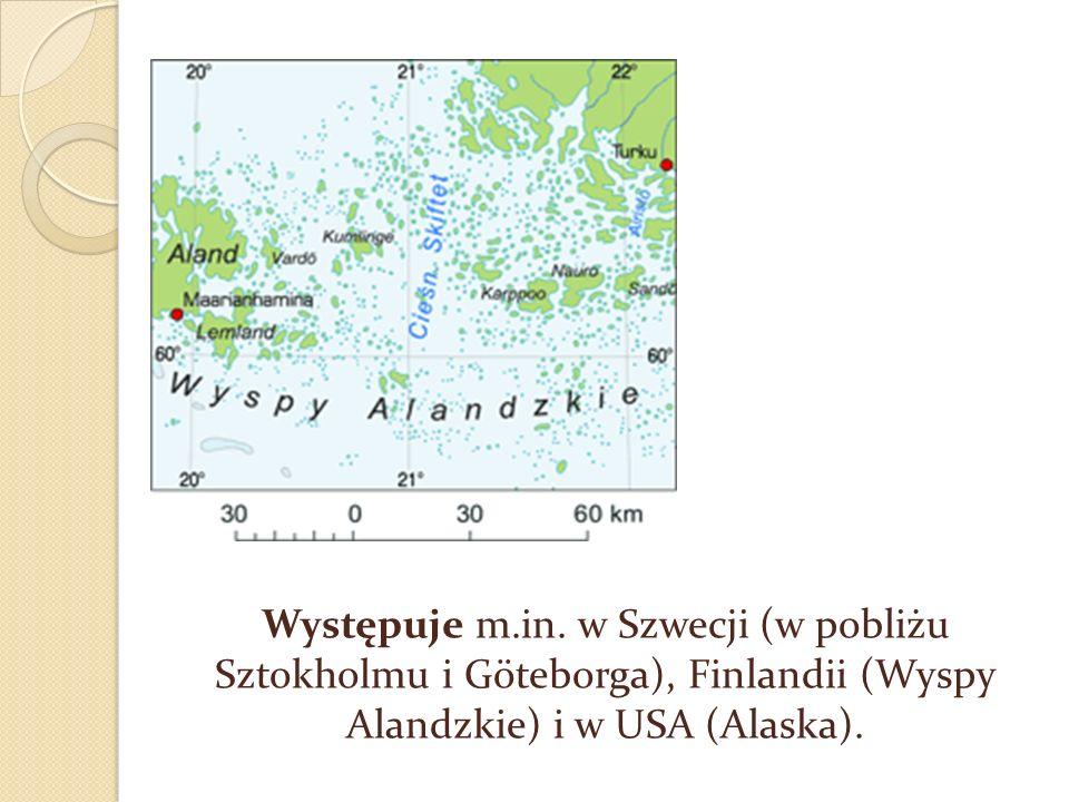 Wybrzeże szkierowe w Szwecji na północ od Goteborga.