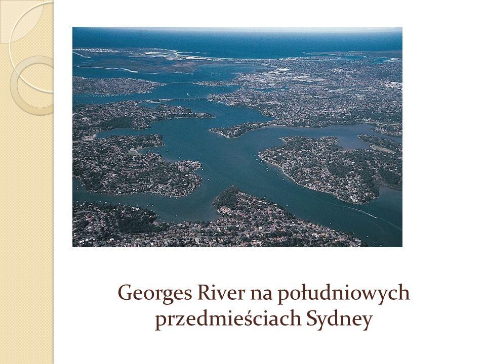 Georges River na południowych przedmieściach Sydney