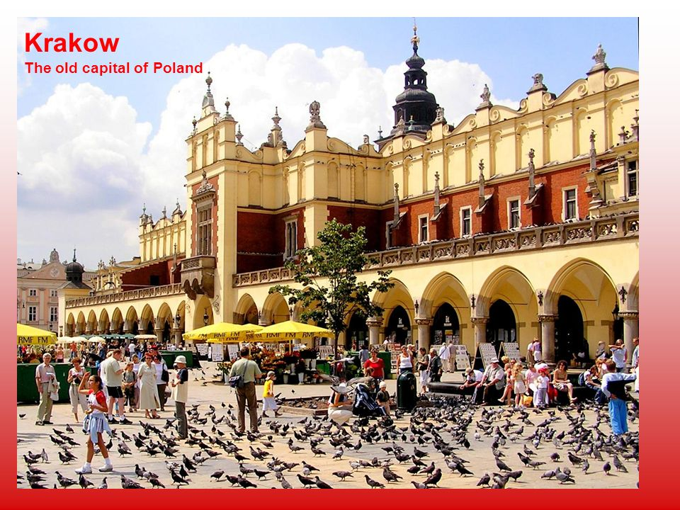 Krakow The old capital of Poland