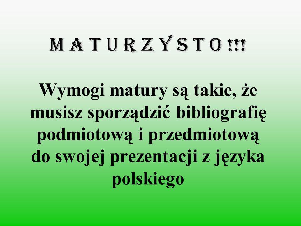 M A T U R Z Y S T O !!.M A T U R Z Y S T O !!.