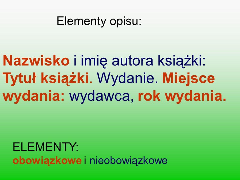 OPIS BIBLIOGRAFICZNY fragmentu (rozdziału) książki: Miłosz Czesław: Historia literatury polskiej do roku 1939.