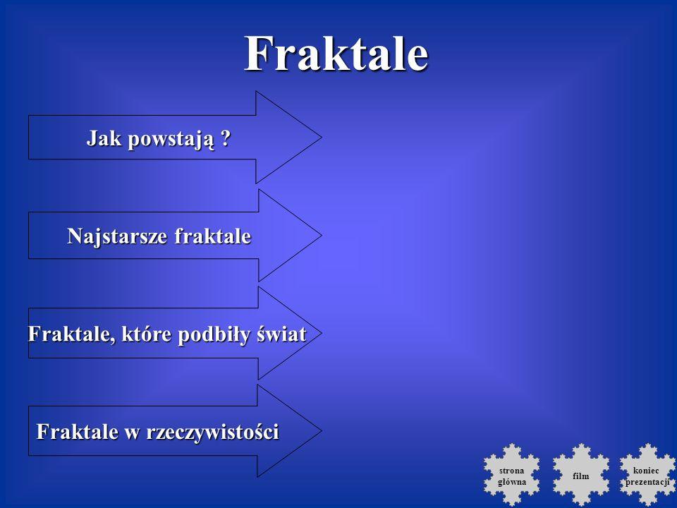 Fraktale Jak powstają .Jak powstają .