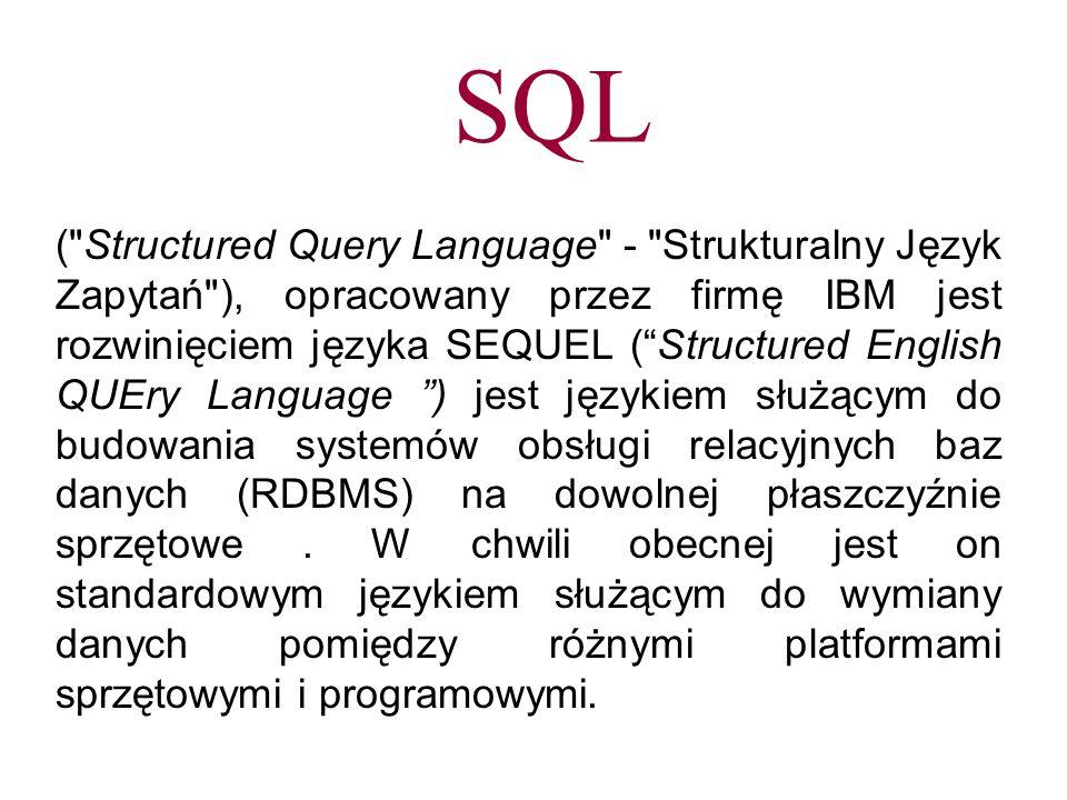SQL (