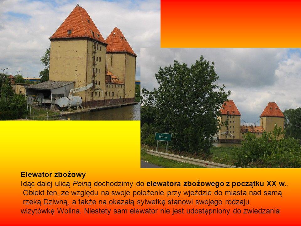 Mijając elewator po lewej stronie dochodzimy do ulicy Zamkowej, a skręcając w nią w prawo, po kilku krokach osiągamy Muzeum Regionalne im.