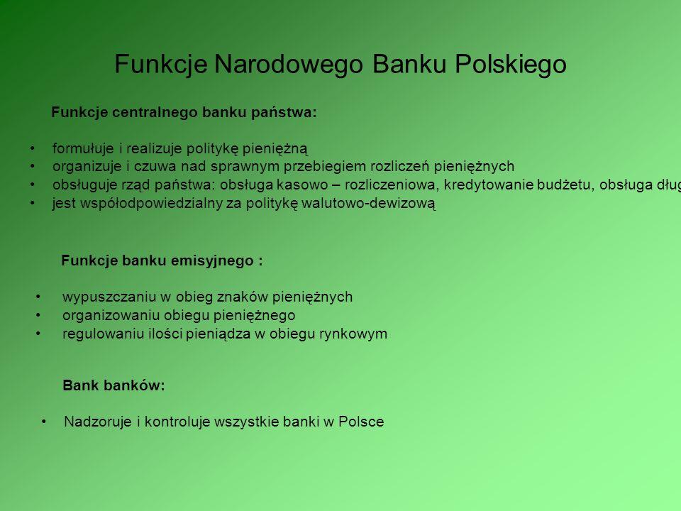 Współcześnie oblicze NBP Obecnie Narodowy Bank Polski stał się jednym z wewnętrznych banków centralnych europy. Sprawia to, ze jego pracowników napoty
