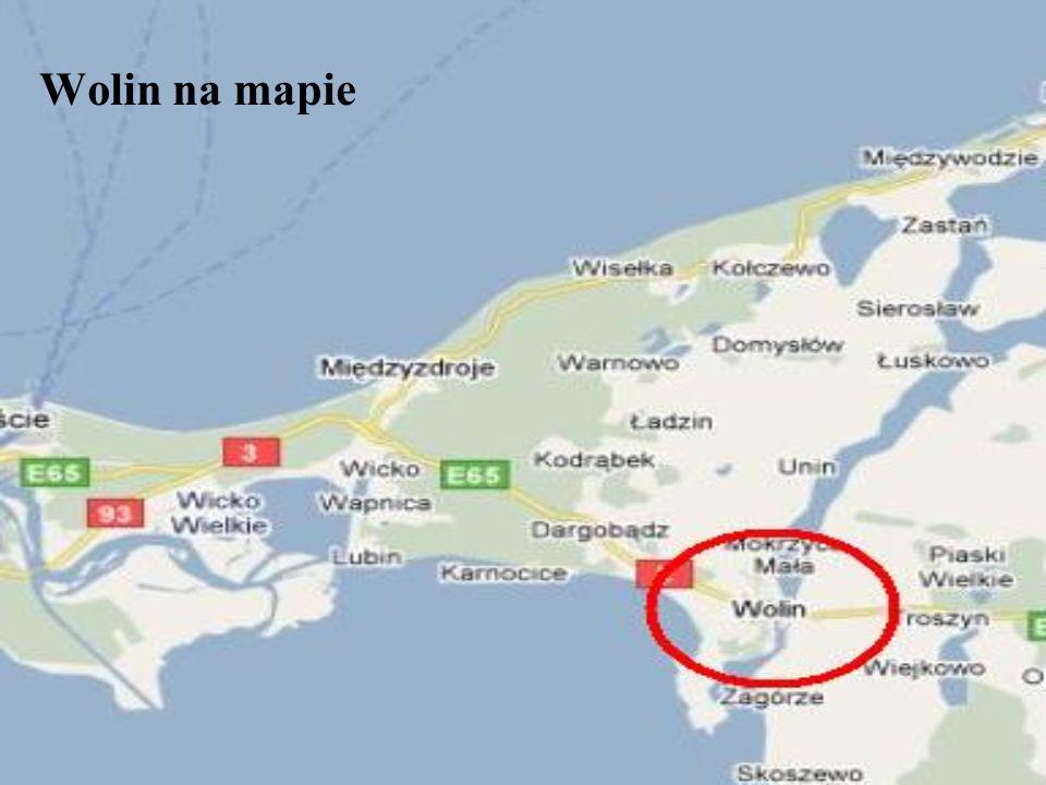 Wolin na mapie
