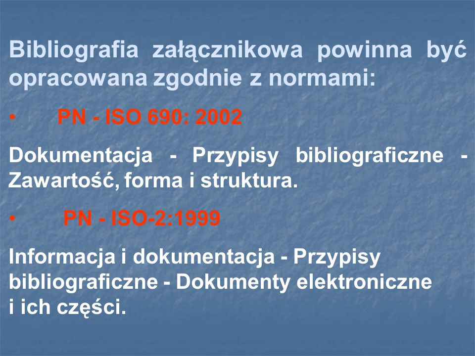 WSPÓŁAUTORKI PREZENTACJI: Gabriela Bonk (nauczyciel bibliotekarz) Biblioteka Zespołu Szkół Urszulańskich w Rybniku www.bibliofilur.republika.pl www.bibliofilur.republika.pl Slajdy: 22-24, 26-27, 29, 33, 35, 39, 41-44 opracowała: Aleksandra Stronka (nauczyciel bibliotekarz) Biblioteka I Liceum Ogólnokształcącego w Świebodzinie www.bibliotekaloswiebodzin.republika.pl www.bibliotekaloswiebodzin.republika.pl