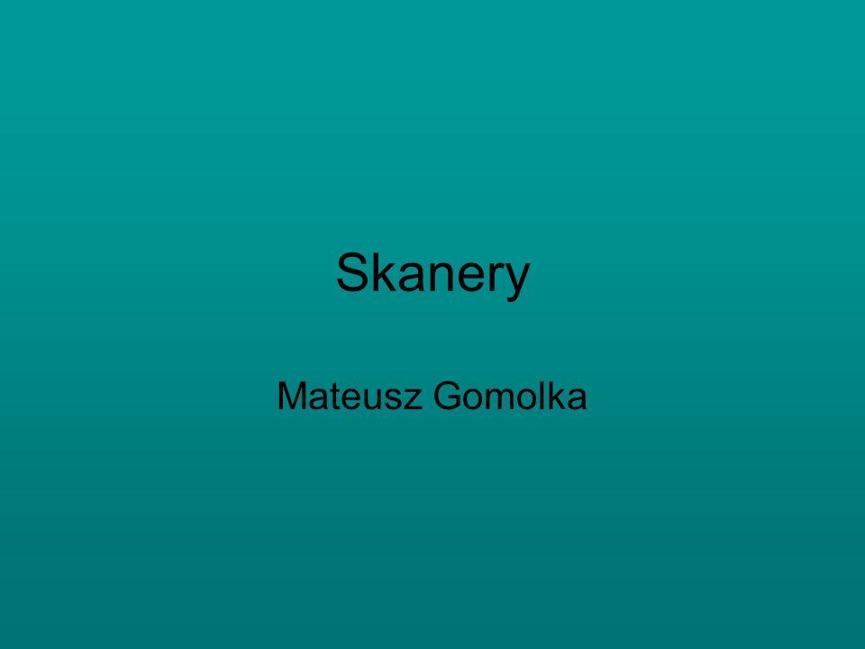 Skanery Mateusz Gomolka