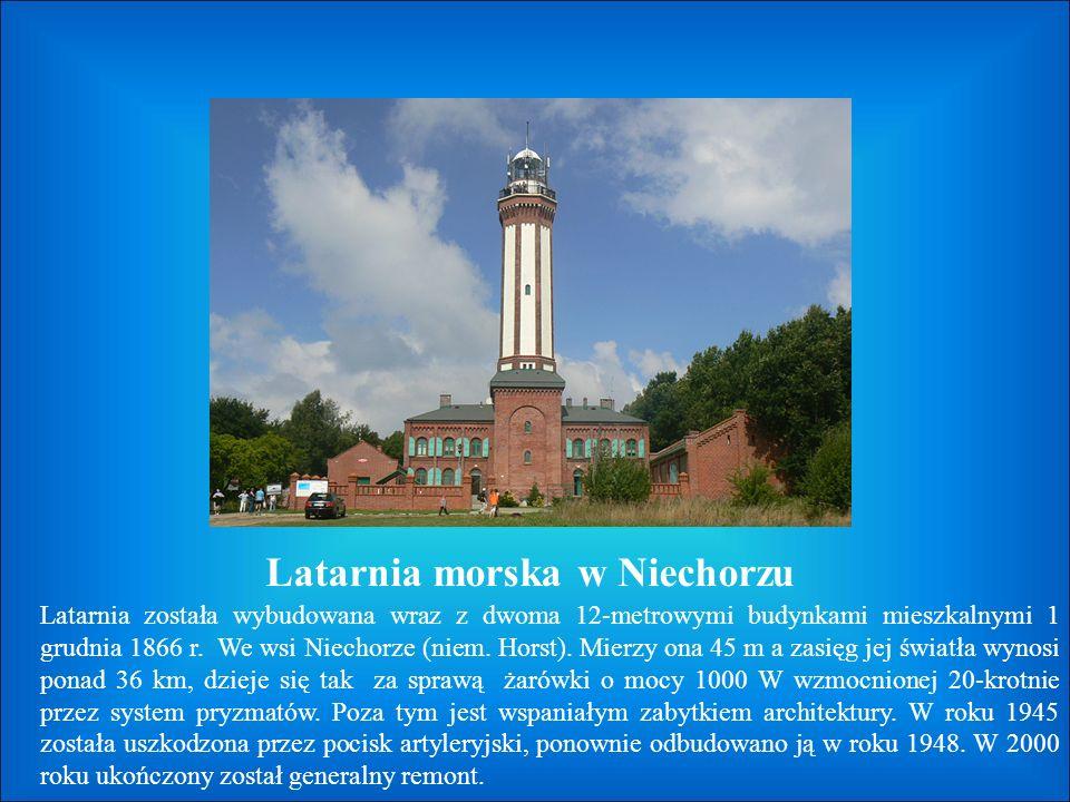 Latarnia morska w Kołobrzegu Historia latarni w Kołobrzegu sięga XVII.