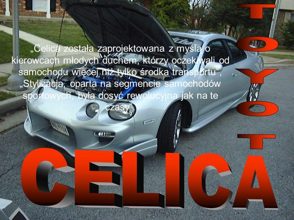 Celica została zaprojektowana z myślą o kierowcach młodych duchem, którzy oczekiwali od samochodu więcej niż tylko środka transportu, Stylizacja, oparta na segmencie samochodów sportowych, była dosyć rewolucyjna jak na te czasy.