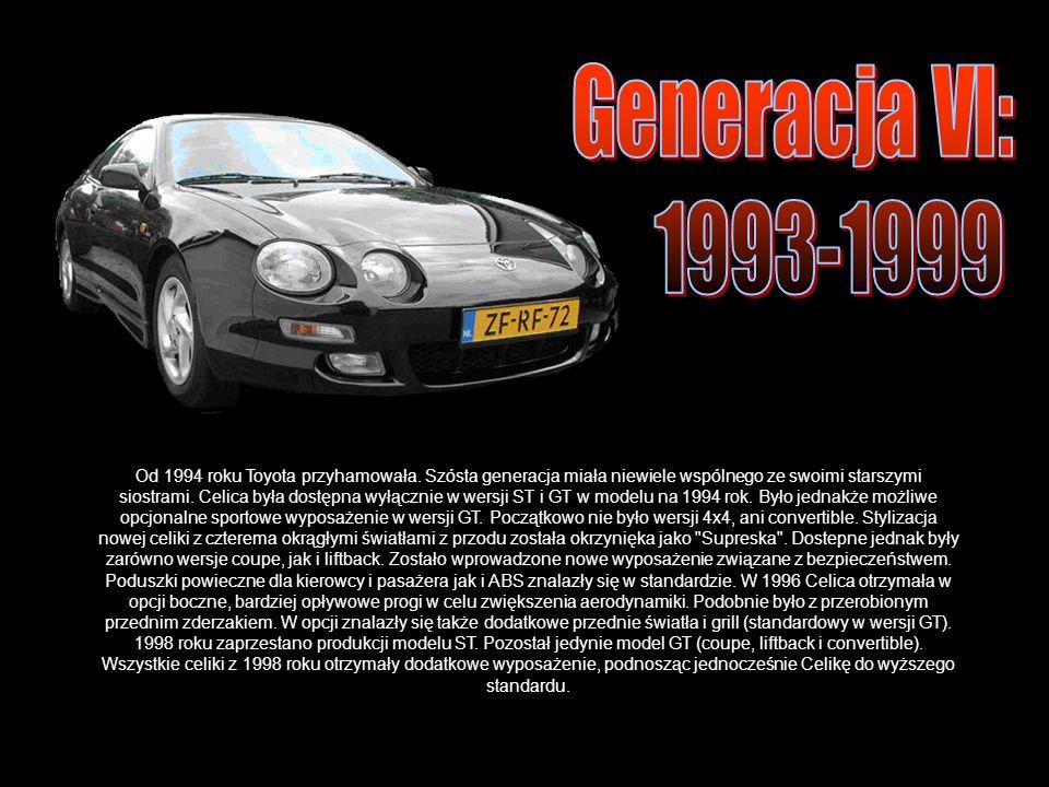Od 1994 roku Toyota przyhamowała.