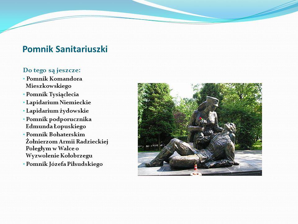Pomniki Pomnik zaślubin z Polskim Morzem Pomnik Arcybiskupa Marcina Dunina