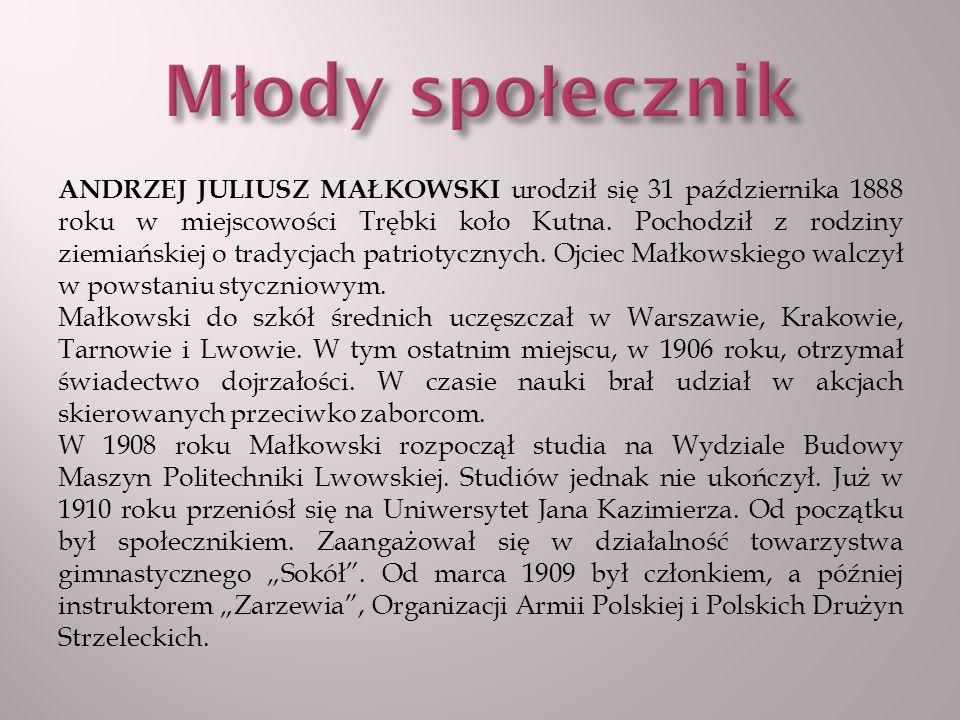 Od 1909 roku zaczęły do Polski docierać informacje o nowym ruchu wychowawczym, jakim był skauting.