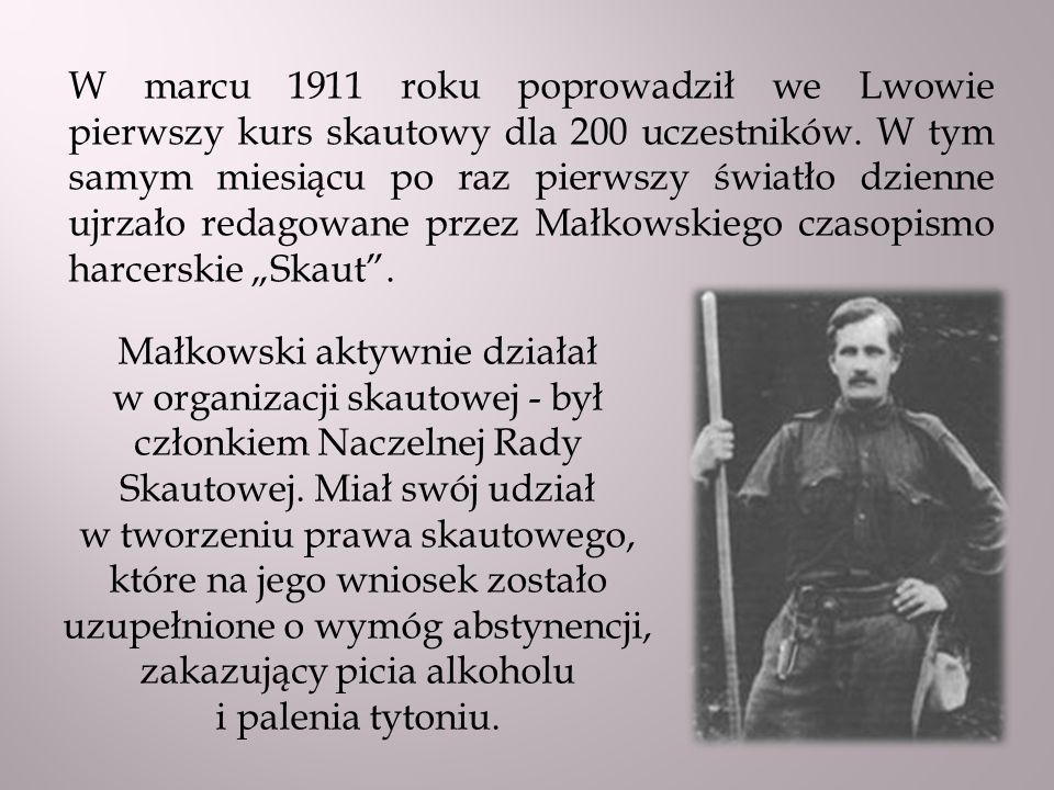 Choroba przyszłej żony – Olgi Drahonowskiej – sprawiła, że narzeczeni wyjechali w 1913 roku do Zakopanego.