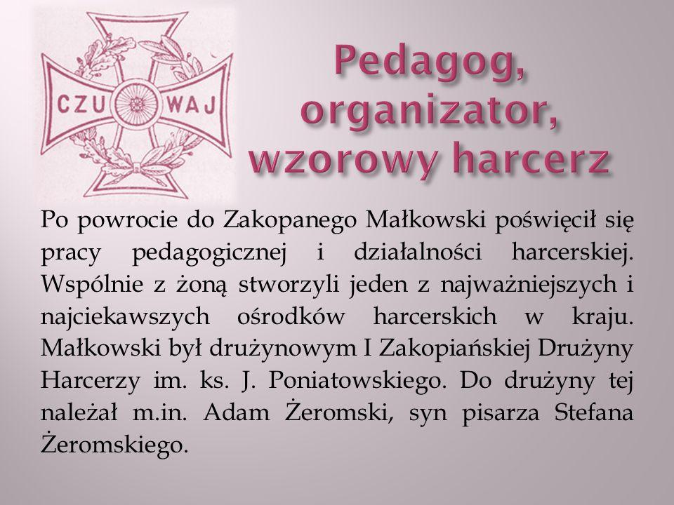 W chwili wybuchu I wojny światowej wstąpił do Legionów Polskich.