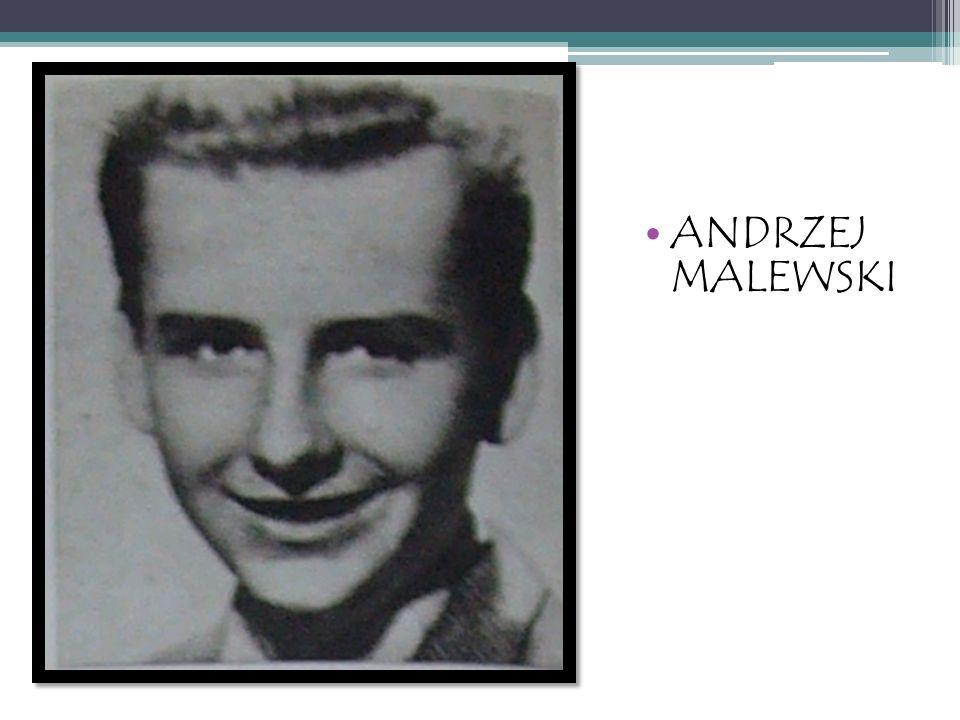 ANDRZEJ MALEWSKI