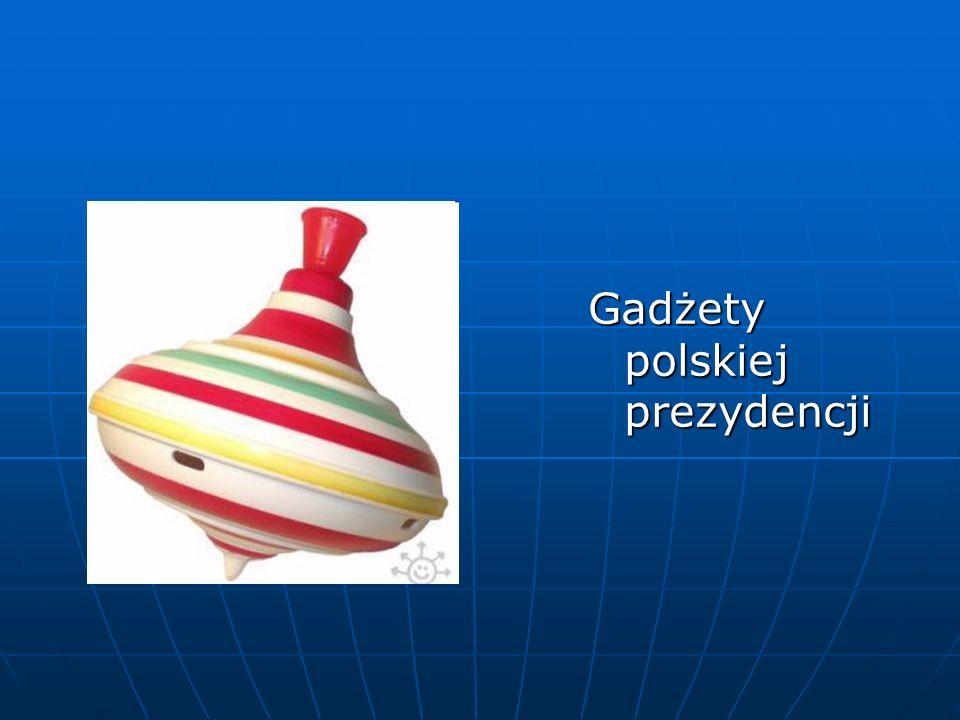 Gadżety polskiej prezydencji