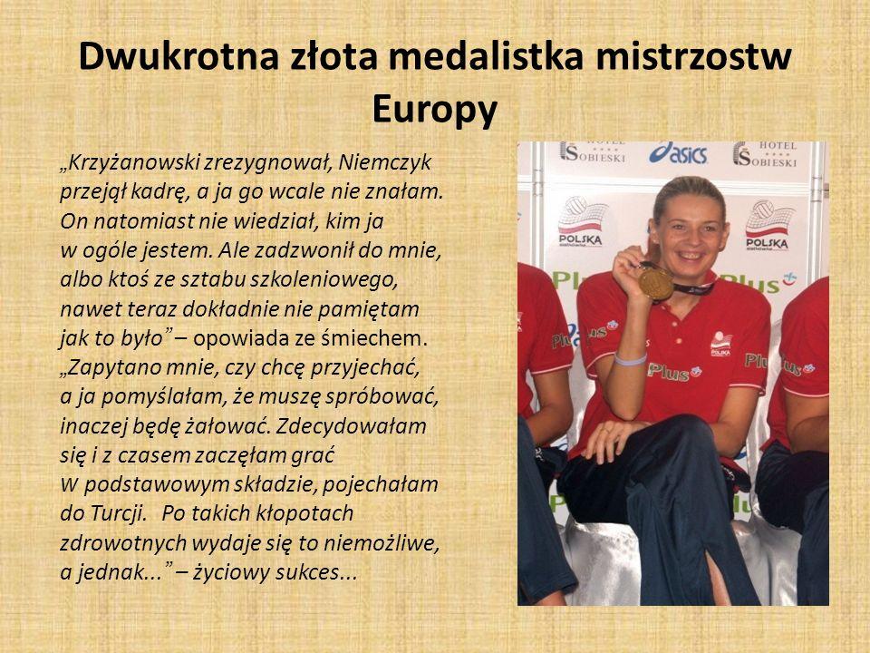 Dwukrotna złota medalistka mistrzostw Europy Krzyżanowski zrezygnował, Niemczyk przejął kadrę, a ja go wcale nie znałam. On natomiast nie wiedział, ki