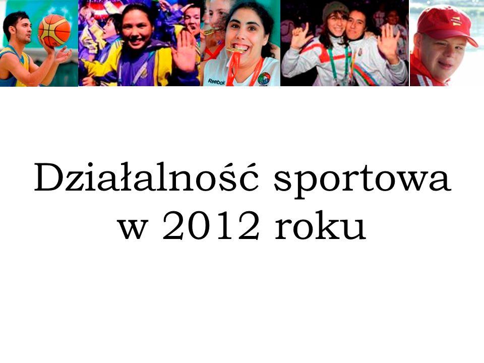 Działalność sportowa w 2012 roku