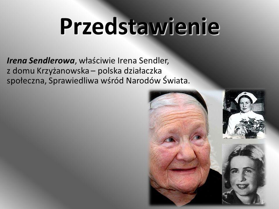 Odznaczenia W roku 2006 z inspiracji prezydenta RP Lecha Kaczyńskiego, z pomocą Stowarzyszenia Dzieci Holocaustu oraz Forum Żydów Polskich podjęto starania o zgłoszenie kandydatury Ireny Sendler do Pokojowej Nagrody Nobla w roku 2007.
