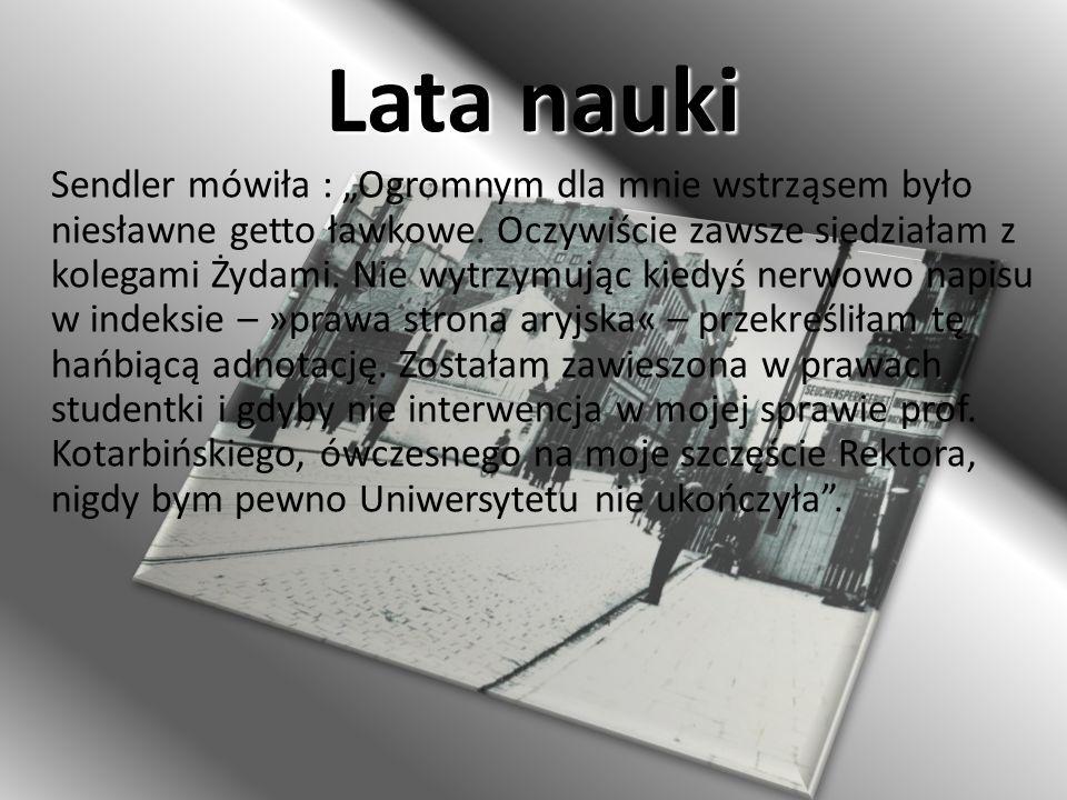 Znana na całym świecie Gotowa do poświęceń – uratowała prawie 2500 dzieci żydowskich z getta warszawskiego.