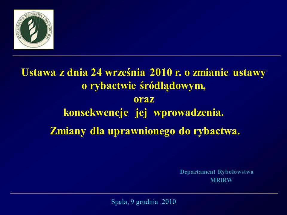 Ustawa z dnia 24 września 2010 r.