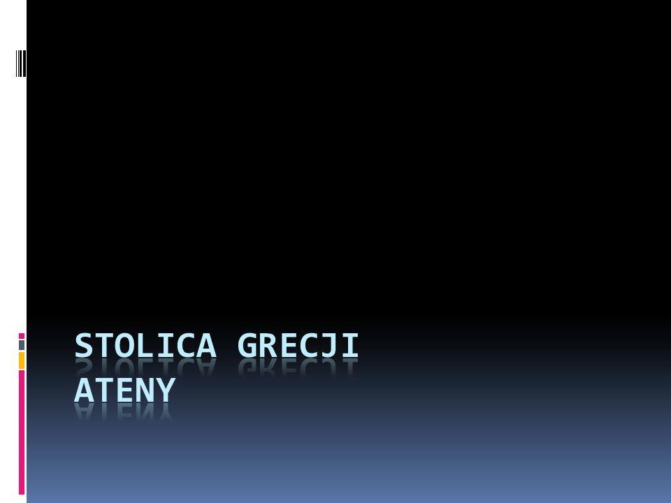 Architektura W Atenach zabytki zamknięte są jakby w skansenie archeologicznym.