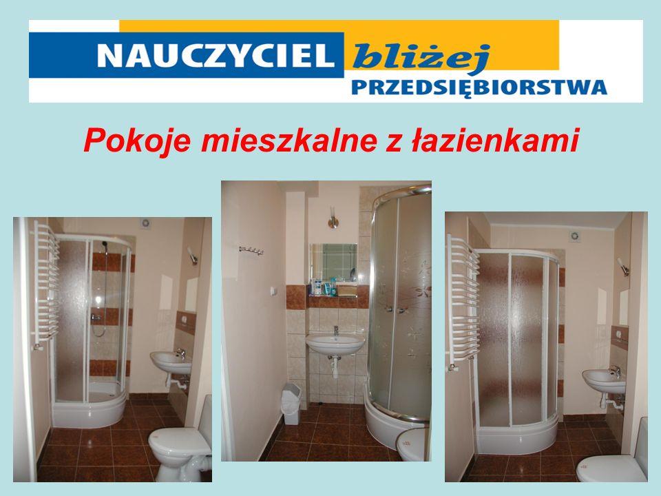 Pokoje mieszkalne z łazienkami