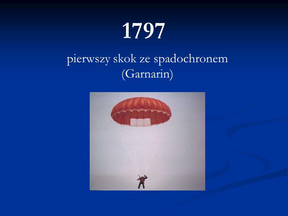 1797 pierwszy skok ze spadochronem (Garnarin)