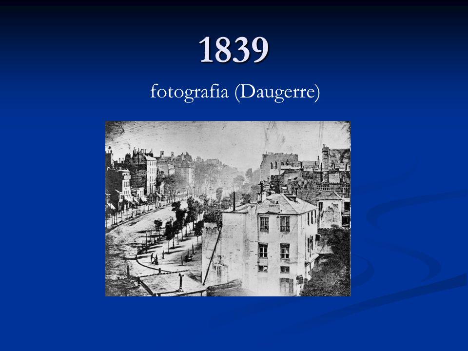 1839 fotografia (Daugerre)