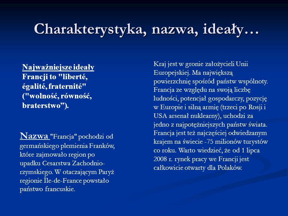 Charakterystyka, nazwa, ideały… Kraj jest w gronie założycieli Unii Europejskiej.