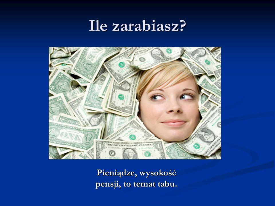 Ile zarabiasz? Pieniądze, wysokość pensji, to temat tabu.