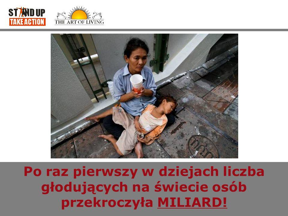 Po raz pierwszy w dziejach liczba głodujących na świecie osób przekroczyła MILIARD!